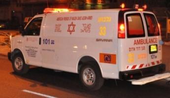 المغار : 8 اصابات متفاوتة في حادث طرق صعب على شارع الحمرا قريبا من المغار