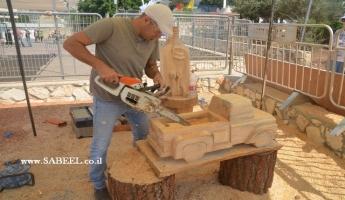 المغار : مهرجان دولي للنحت على الخشب يقام لأول مرة في المغار