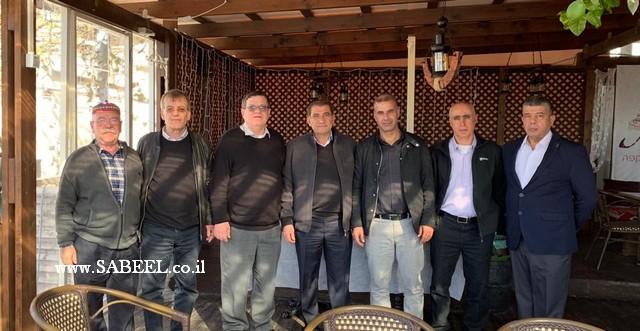 منتدى رؤساء السلطات المحلية الدرزية والشركسية ينتخب في اجتماع عقده اليوم في جولس السيد وهيب حبيش رئيسًا للمنتدى