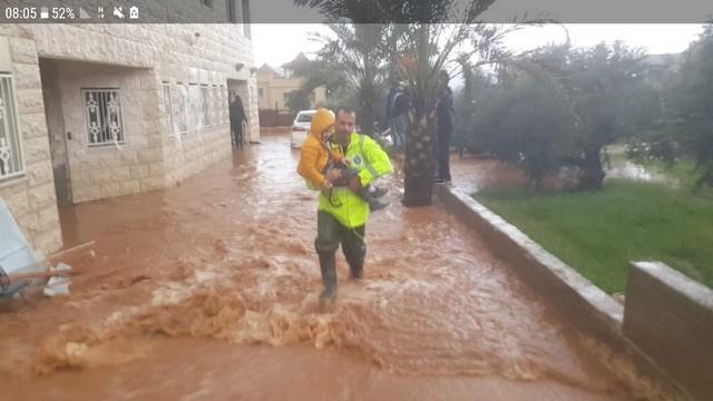امطار غزيرة وفيضانات ما شاء الله مع توقعات حالة الطقس اليوم والأيام القادمة