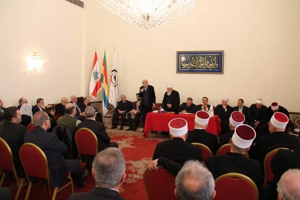 دروز لبنان: المجلس الدرزي يَرصّ صفوفه.. ويبايع سياسة جنبلاط