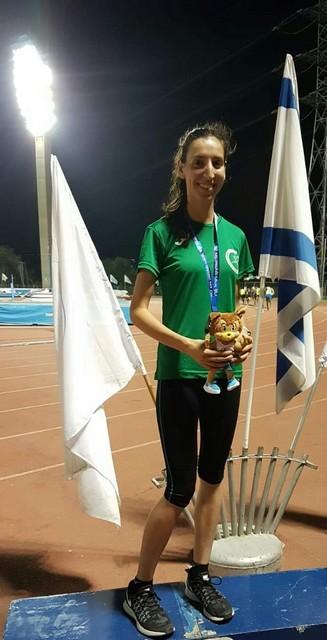 ابنة دالية الكرمل كروان حلبي...بطلة اسرائيل في الركض لمسافة 10 كم