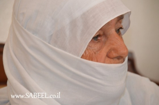 المغار : ( أم ريدان ) زهرة سعيد أبو جنب (96عامًا)...