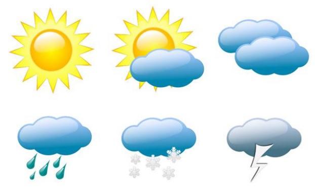الأحوال الجوّيّة المتوقعة لليوم والأيام القريبة: أمطار وعواصف رعدية وطقس بارد