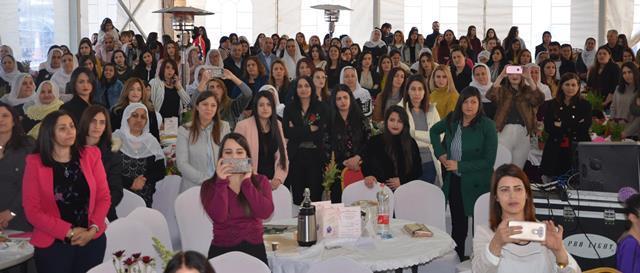 جمعيّة نسيج : مؤتمر المرأة والأم في بيت جن ورد وحلى
