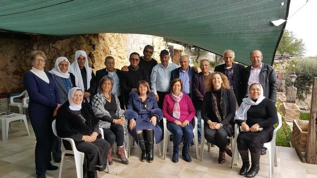 في قرية الرامة زيارة تضامنية مع صاحب البيت والمرفق المهدد بالهدم