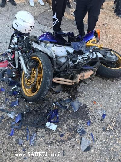 3 اصابات بالغة في حادث سير مروع بين المغار وعيلبون
