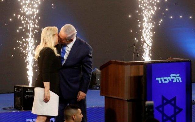 فوز اليمين وبنيامين نتانياهو في الانتخابات(تصوير: Reuters)
