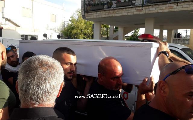 دالية الكرمل : مراسم تشييع جنازة الشاب المغدور دانيال سامي حلبي ستجري في الساعة الثامنة والنصف هذا المساء